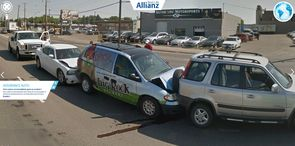 Illustration du site Allianz Real Life, tirée de Google Street View.