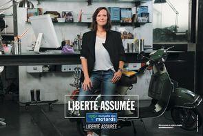 l 39 argus de l 39 assurance la mutuelle des motards lance une campagne publicitaire plurim dia. Black Bedroom Furniture Sets. Home Design Ideas