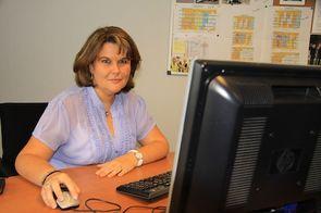 Sandrine Jaunet, responsable des relations entreprise de l'école d'ingénieurs Esict Caen.