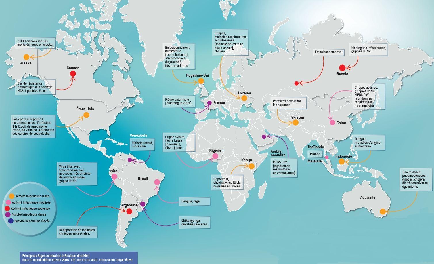 Maladies infectieuses émergentes : à l'heure où elles se propagent