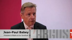 Jean-Paul Babey, président du Syndicat 10.