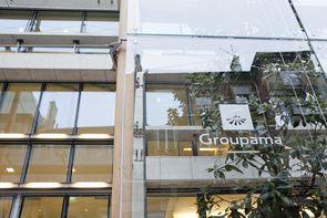 Le siège de Groupama, rue d'Astorg à Paris