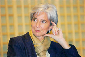 Christine Lagarde, Ministre des Finances