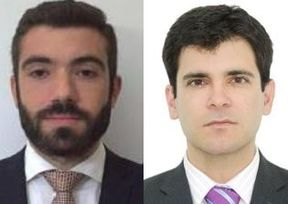 Nicolas Dzubanowski (à gauche) et Victor Sanchez, nouvelles recrues d' Allianz Global Corporate & Specialty (AGCS).